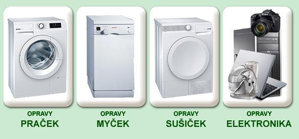 Opravy praček Praha
