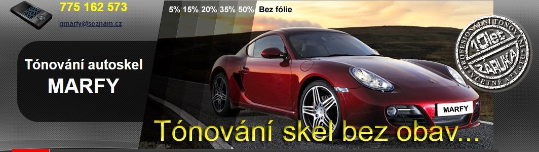 Tónování autoskel Praha